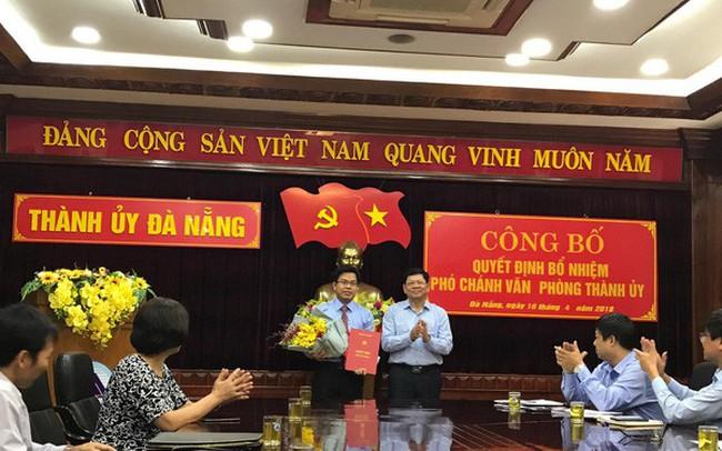 Văn phòng Thành ủy Đà Nẵng có nhân sự mới