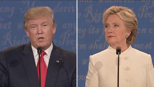 [Trực tiếp] Vòng tranh luận cuối cùng bầu cử Tổng thống Mỹ 2016: Donald Trump là con rối của ông Putin - Ảnh 1.