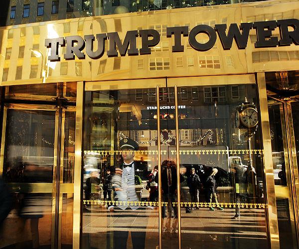 Tòa nhà Trump dát vàng tại Mỹ.