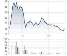 Giá cổ phiếu VNB