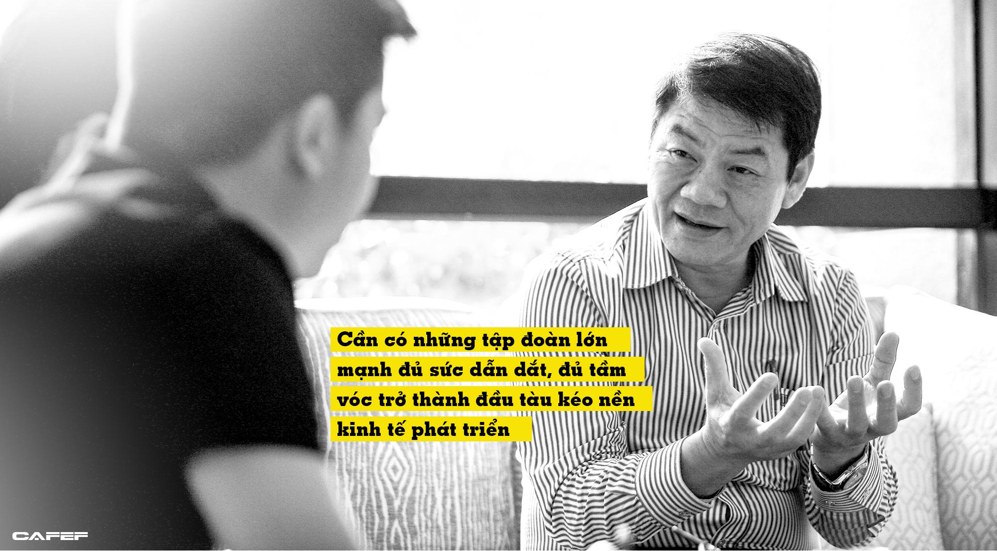 Doanh nhân Trần Bá Dương: Chúng ta đang mãi