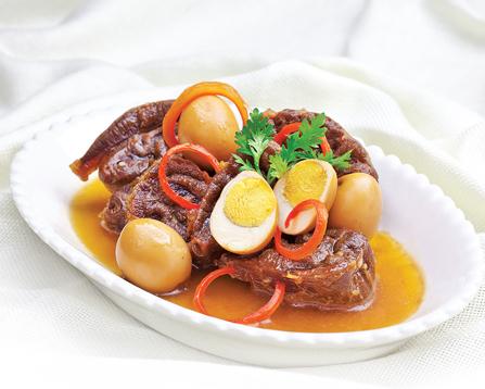 Mỗi phần thịt kho 150g sẽ tương ứng khoảng 250 calo.