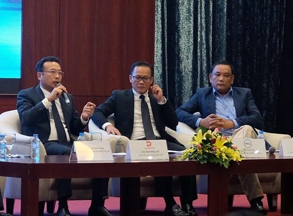 Ông Đoàn Hồng Việt,Chủ tịch Hội đồng Quản trị kiêm Tổng Giám đốc CTCP Thế Giới Số (DGW).