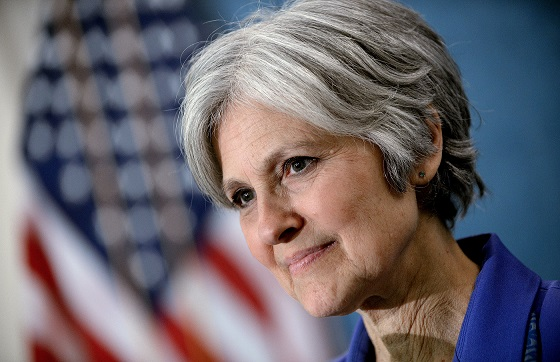 Bà Jill Stein, ứng viên tổng thống của đảng Xanh.