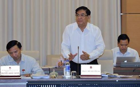 Ông Tống Anh Hào, Phó Chánh án Tòa án Nhân dân tối cao (Ảnh: quochoi.vn)