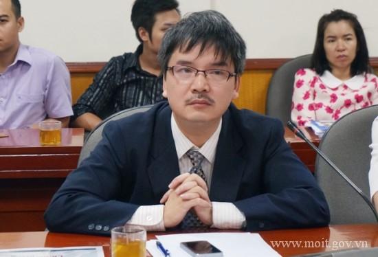 Ông Phạm Anh Tuấn - Phó vụ trưởng Vụ công nghiệp nặng, Bộ Công Thương.