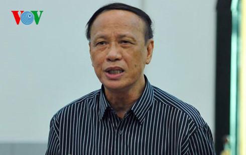 GS.TS Trần Ngọc Đường, nguyên Phó Chủ nhiệm Văn phòng Quốc hội.