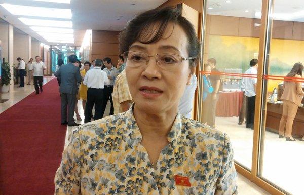 Chủ tịch HĐND TP.HCM Nguyễn Thị Quyết Tâm cho rằng nên quy xe công về 1 đầu mối để điều phối. Ảnh: T.Hạnh