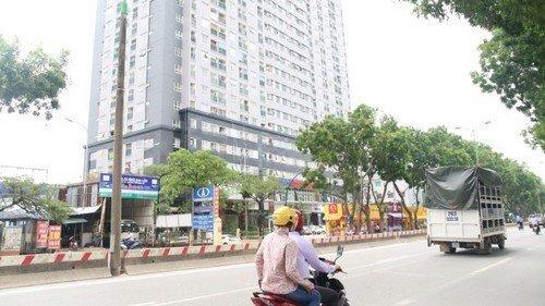 """Tòa nhà Bắc Hà Lucky 30 Phạm Văn Đồng của CTCP Đầu tư xây dựng và thương mại Bắc Hà theo công bố mới đây cũng một trong những công trình đóng mác """"điểm đen"""" về PCCC."""