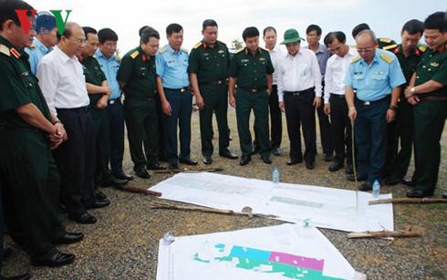 Dự án Sân bay Phan Thiết có tổng diện tích 543 ha, là sân bay phục vụ cho cả quân sự và dân sự, có khả năng tiếp nhận 500.000 khách mỗi năm.