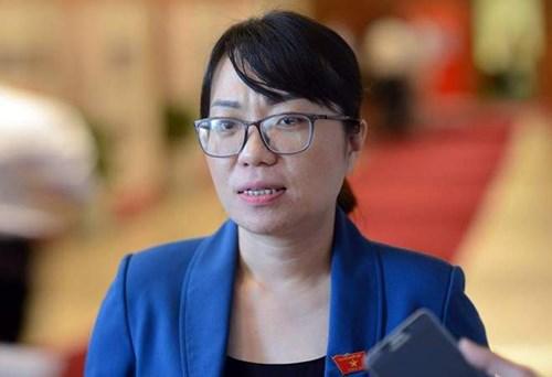 Đại biểu Quốc hội Phạm Thị Minh Hiền.