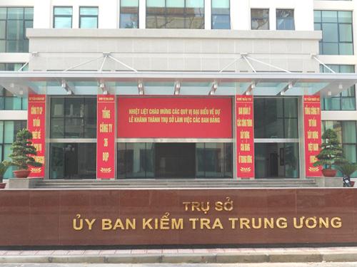 Trụ sở Ủy ban Kiểm tra Trung ương ở Hà Nội
