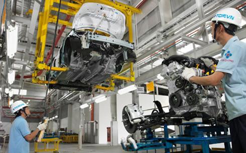 Ngành công nghiệp chế biến, chế tạo thu hút đầu tư trực tiếp nước ngoài lớn nhất vào VN(Ảnh minh họa:KT).