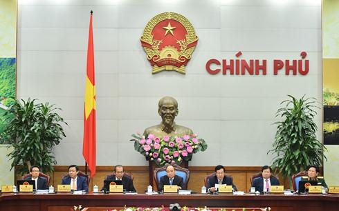 Hội nghị trực tuyến giữa Chính phủ với các địa phương. (Ảnh: VGP)