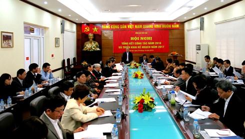 Hội nghị tổng kết Thủy sản năm 2016, triển khai nhiệm vụ 2017.
