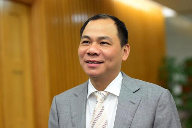 Chủ tịch HĐQT Tập đoàn Vingroup Phạm Nhật Vượng