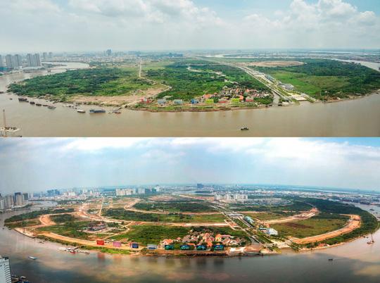 Cận cảnh Phố Đông Sài Gòn sáng 2-9 - Ảnh 1.