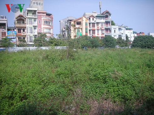 Một dự án trường học chậm triển khai trên địa bàn quận Hoàng Mai.