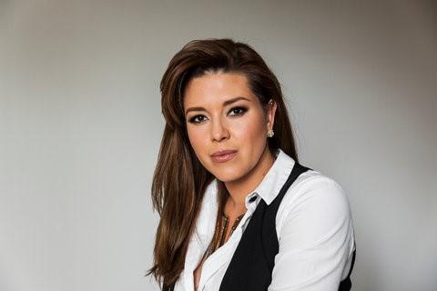 Cựu Hoa hậu Hoàn vũ Alicia Machado Ảnh: NYT