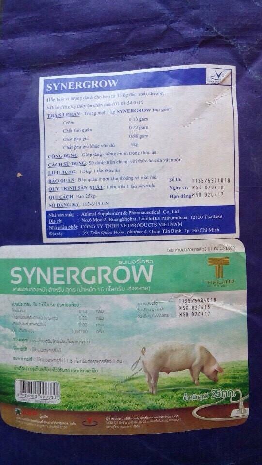 Các cơ sở chăn nuôi chuyển sang dùng chất Cysteamine thay thế Salbutamol