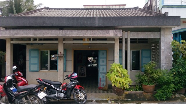 Căn nhà của chị Đào ở Trà Vinh. Ảnh O.S