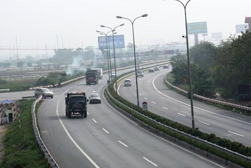 Cao tốc Pháp Vân - Cầu Giẽ, một phần của cao tốc Bắc - Nam đã được đưa vào sử dụng. Ảnh: Sỹ Lực.