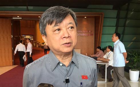 Đại biểu Quốc hội Trương Trọng Nghĩa trả lời báo chí ngày 28/10