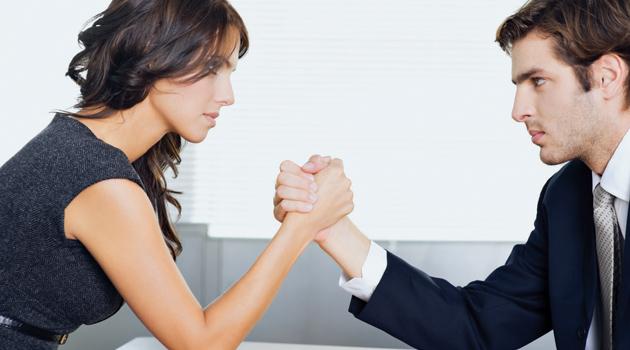 Phụ nữ có xu hướng ít thoả hiệp trong công việc.