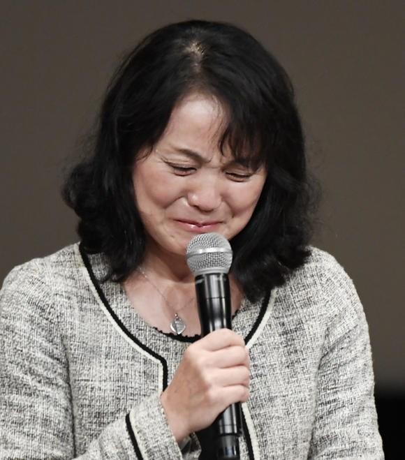Mẹ của Matsuri Takahashi, cô gái đã tự tử. (Nguồn: Nikkei Asian Review)