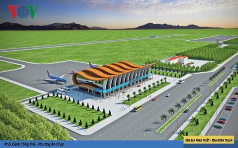 Dự án sân bay Phan Thiết nằm trên địa bàn xã Thiện Nghiệp, TP Phan Thiết