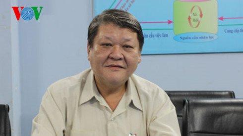 Ông Trần Anh Tuấn – Phó Giám đốc Trung tâm Dự báo nhu cầu nhân lực và thị trường lao động TP.HCM. Ảnh: VOV