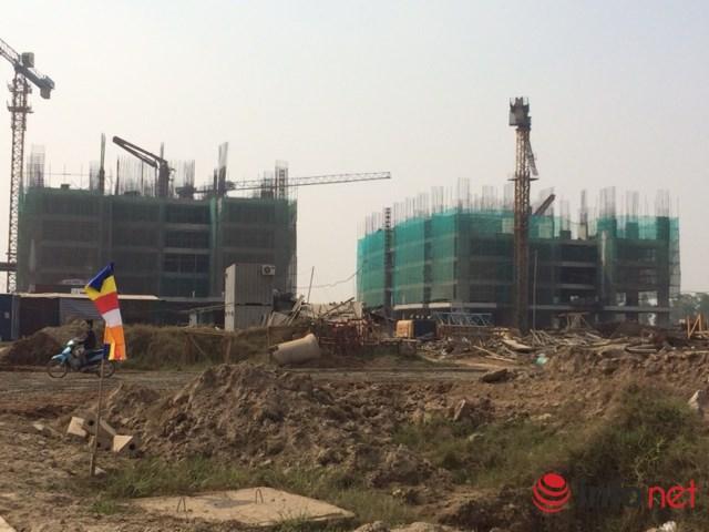 Khu chung cư giá rẻ đang được Mường Thanh bán với giá 9,5 triệu đồng/m2, nhưng người mua vẫn phải trả chênh từ 10 đến 60 triệu đồng một căn. Ảnh: Minh Thư