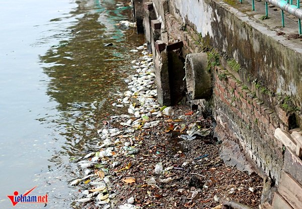 Cống xả thải nhiều người phàn nàn ô nhiễm nhất đặt tại số 10 Nguyễn Đình Thi