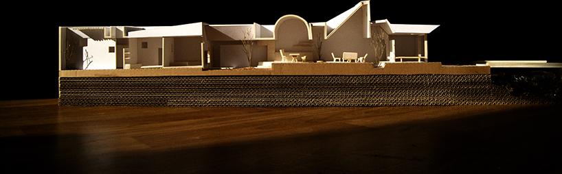 Mô hình toàn bộ căn nhà.