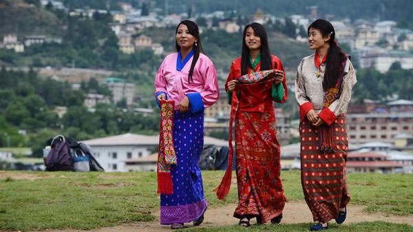 Phụ nữ ở Bhutan rất được coi trọng, là vị trí trụ cột trong gia đình như đàn ông ở Việt Nam vậy.