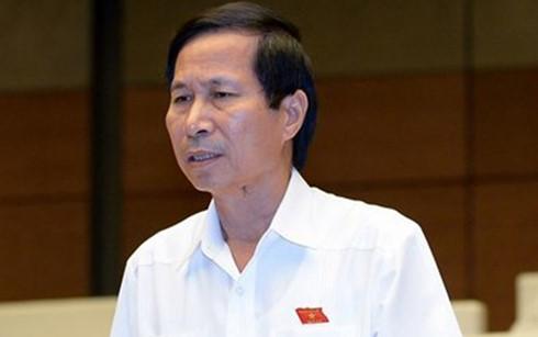 Đại biểu Quốc hội Bùi Văn Phương