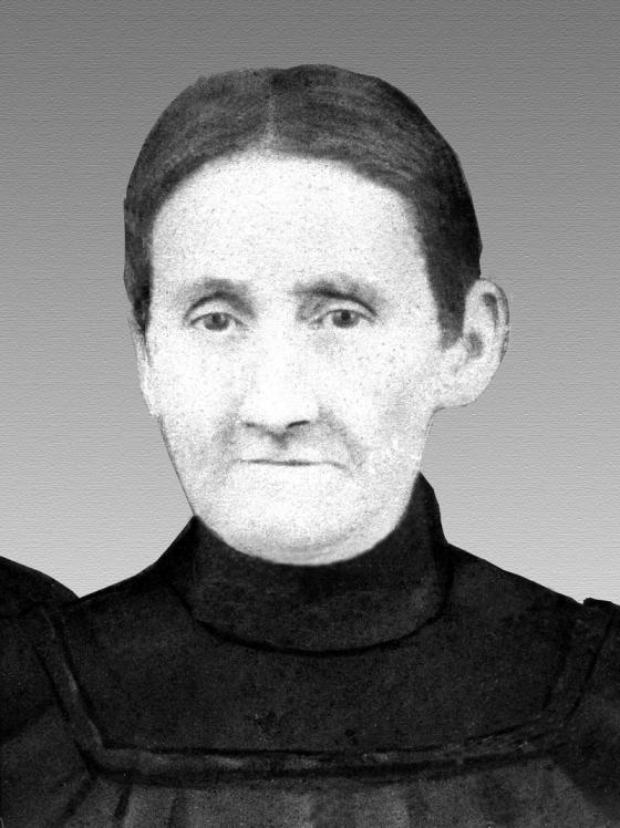 Chân dung bà Nancy Matthews Elliott - mẹ của Thomas Edison.