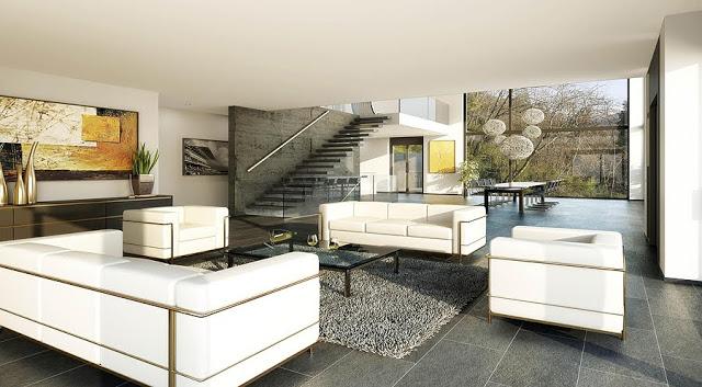 Người ta đã dùng 200.000 cân vàng và bạch kim để trang trí nội thất cho ngôi nhà này.
