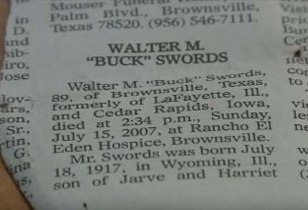 Melina nằm trong danh sách những người thừa kế của ông Walter.