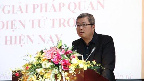 Cục trưởng PTTH và TTĐT Nguyễn Thanh Lâm