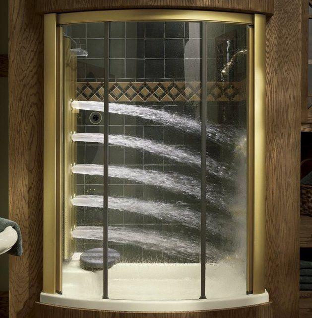 Vòi sen này lại được thiết kế với những đầu vòi tuôn nước mạnh khiến người tắm có cảm giác như đang được tắm dưới thác nước mát rượi.