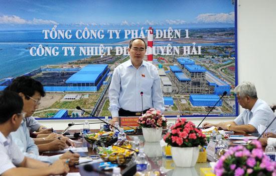 Ông Nguyễn Thiện Nhân chủ trì cuộc họp