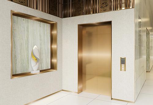 Các sảnh thang máy riêng biệt đưa chủ nhân đến ngay căn hộ của mình mà không phải chia sẻ lối đi với bất kỳ ai.