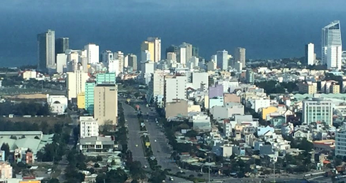Khu đô thị biển Đà Nẵng. Ảnh: VGP/Minh Hùng