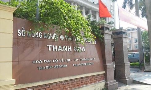 Trụ sở Sở Nông nghiệp và Phát triển nông thôn Thanh Hóa