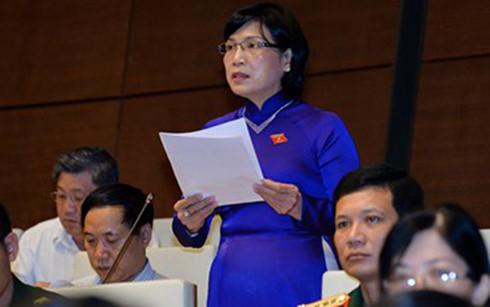Đại biểu Mai Thị Ánh Tuyết