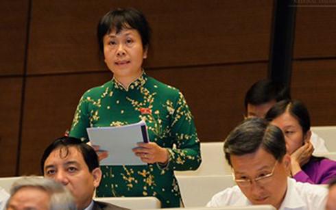 Đại biểu Nguyễn Vân Chi