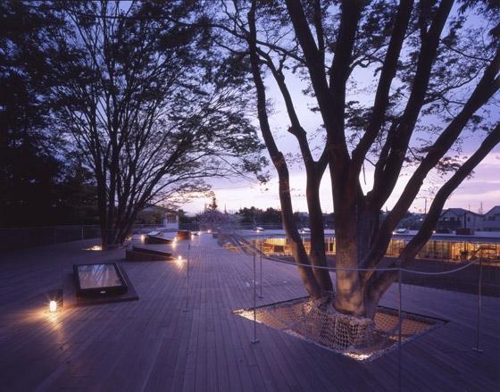 Kiến trúc sư Takaharu Tezuka là người chịu trách nhiệm thiết kế trường mầm non Fuji.