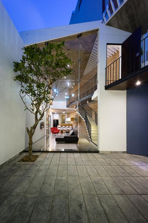 Công trình được xây dựng trên sự đồng cảm của kiến trúc sư và chủ đầu tư.