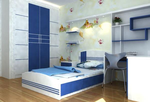 Một thiết kế khác phòng ngủ dành cho con chủ nhà. (Ảnh minh họa)